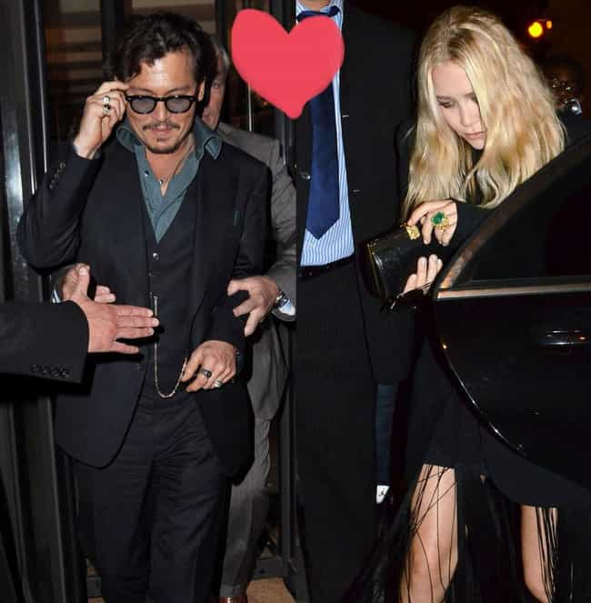Ashley Olsen is listed (or ranked) 2 on the list Johnny Depp's Loves & Hookups