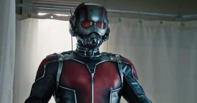 Ant-Man is listed (or ranked) 1 on the list The Luckiest Characters In The Marvel Cinematic Universe, Ranked