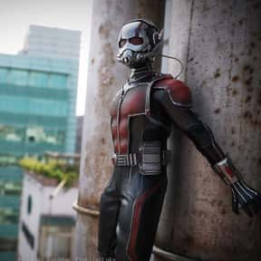 Ant-Man is listed (or ranked) 12 on the list The Best Characters In The Marvel Cinematic Universe