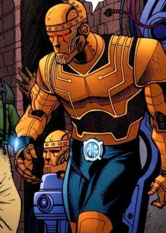 Robotman is listed (or ranked) 2 on the list The Best Doom Patrol Members