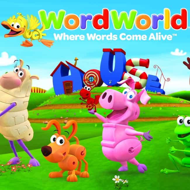 WordWorld is listed (or ranked) 4 on the list The Best Reading Shows For Kids