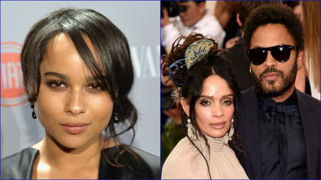 Zoë Kravitz is listed (or ranked) 4 on the list 26 Current Stars Who Have Famous Parents