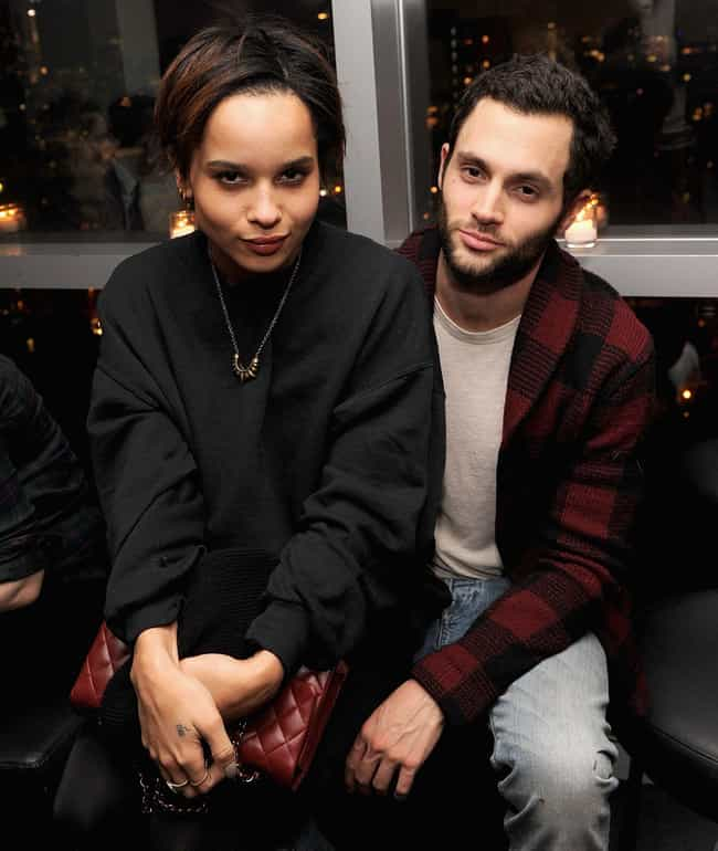 Zoë Kravitz is listed (or ranked) 2 on the list Penn Badgley Loves and Hookups