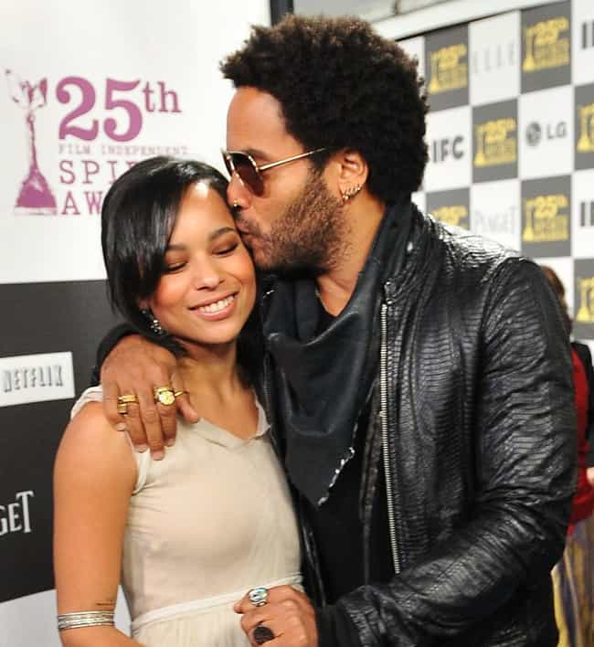 Zoë Kravitz is listed (or ranked) 4 on the list 27 Current Stars Who Have Famous Parents
