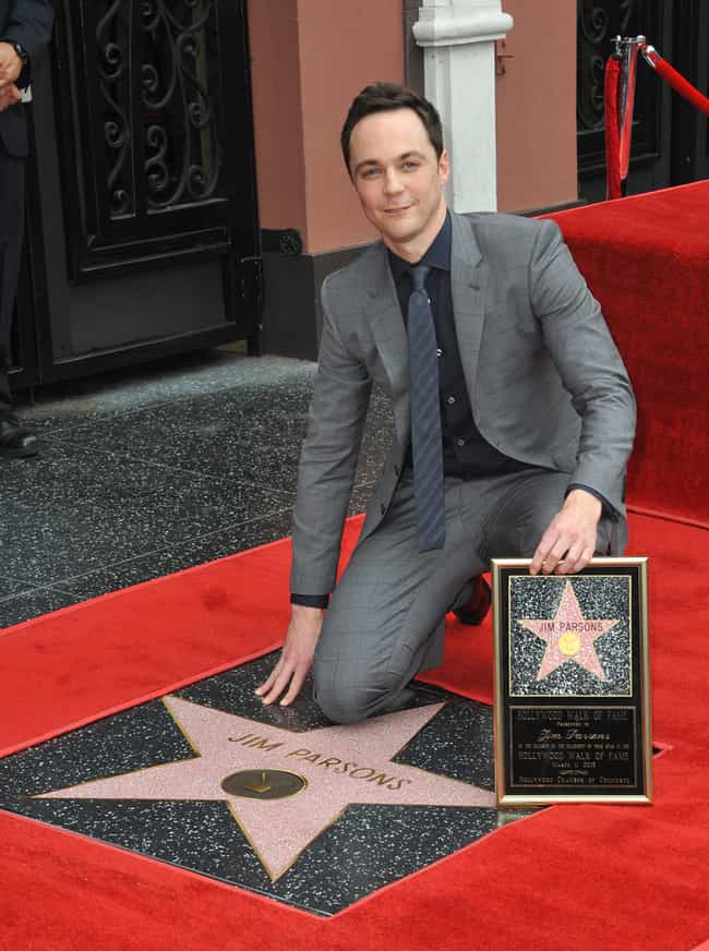 Jim Parsons is listed (or ranked) 5 on the list Gay Actors Who Play Straight Characters