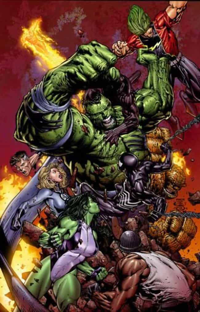 World War Hulk: X-Men is listed (or ranked) 4 on the list The Best Marvel Crossover Events & Storylines Ever