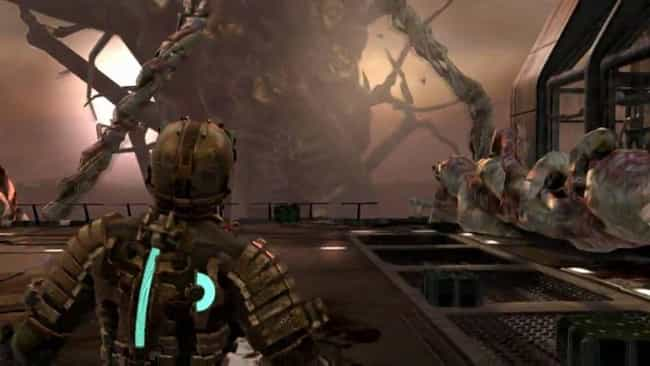 Dead Space is listed (or ranked) 6 on the list 12 Times Video Game Heroes Were Destroyed In A Fight