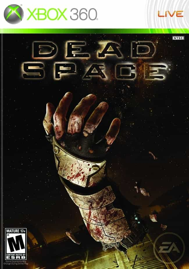 Dead Space is listed (or ranked) 3 on the list The Bloodiest Video Games of All Time