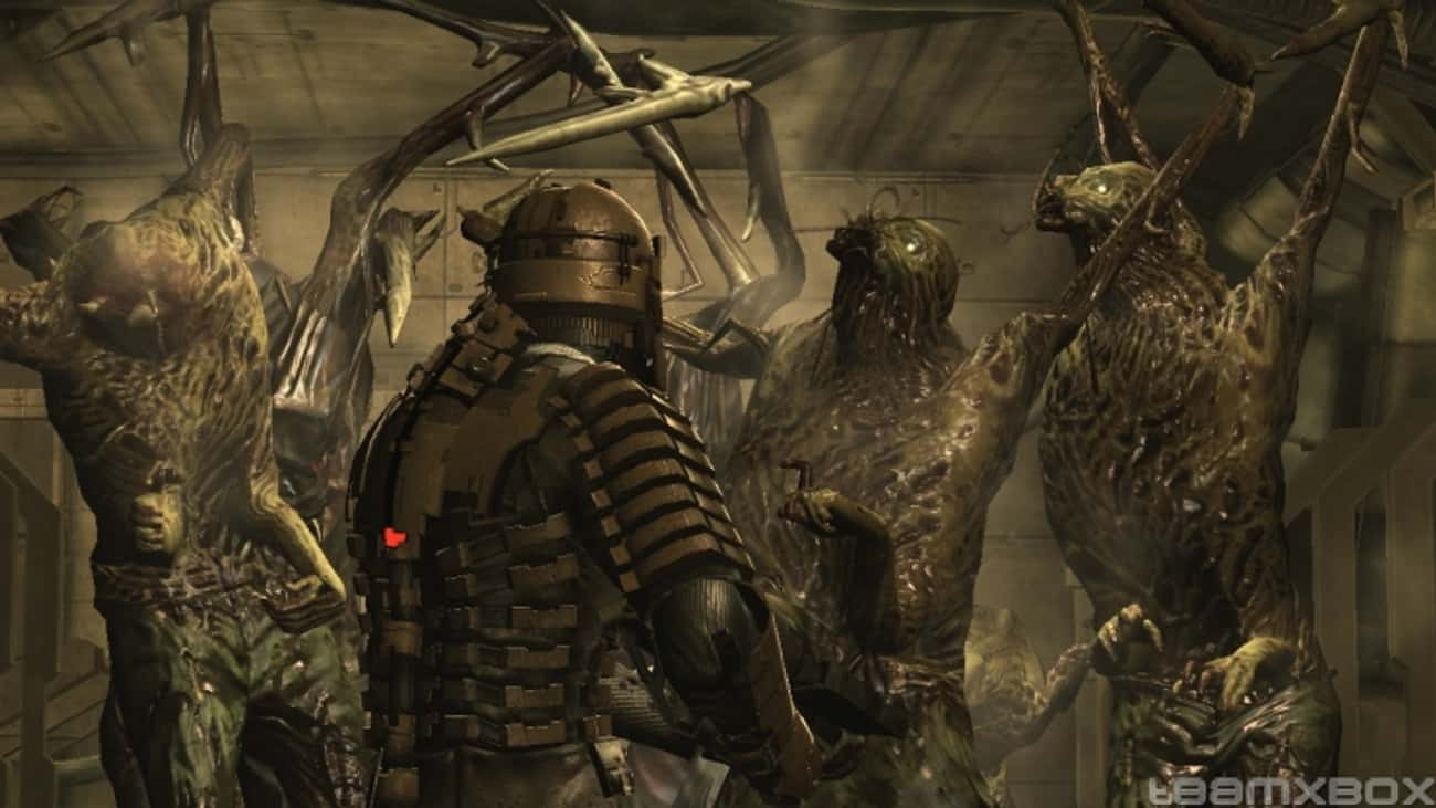 Dead Space is listed (or ranked) 3 on the list The Most Violent Video Games of All Time