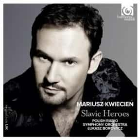 Mariusz Kwiecień is listed (or ranked) 24 on the list The Greatest Living Opera Singers