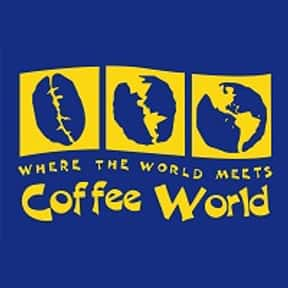 Coffee World is listed (or ranked) 17 on the list The Best Coffee House Chains