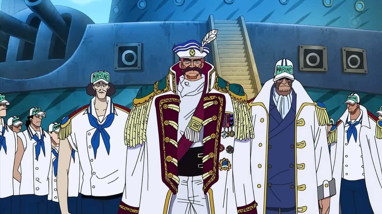 The G-8 Arc – 'One Piece' is listed (or ranked) 4 on the list 16 Times Anime Filler Was Actually Really Good
