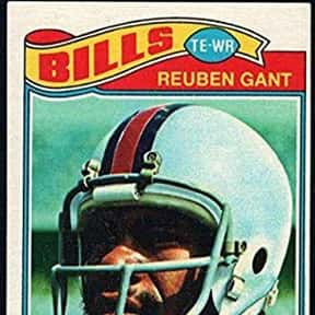 Reuben Gant is listed (or ranked) 6 on the list The Best Buffalo Bills Tight Ends Of All Time