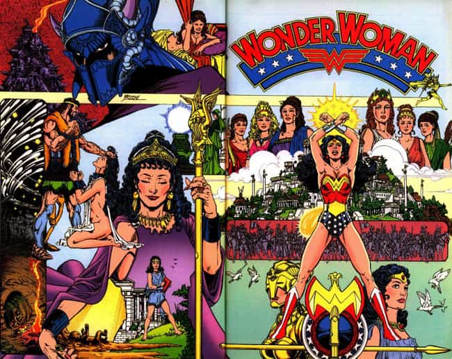 Gods and Mortals is listed (or ranked) 1 on the list The Best Wonder Woman Storylines in Comics