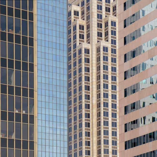 1600 Pacific Tower is listed (or ranked) 2 on the list List of Famous Dallas Buildings & Structures