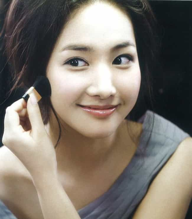 Park Min-young is listed (or ranked) 2 on the list The Most Beautiful Korean Actresses
