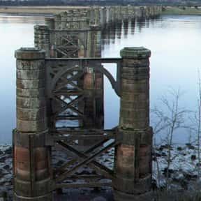 Alloa Swing Bridge is listed (or ranked) 1 on the list Scottish Bridges