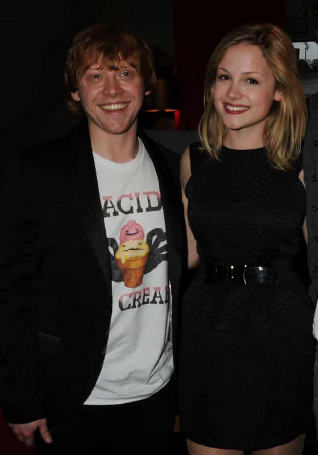 Kimberley Nixon is listed (or ranked) 2 on the list Rupert Grint Loves and Hookups