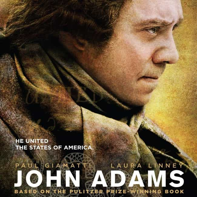 John Adams is listed (or ranked) 3 on the list The Best HBO Miniseries Of All Time