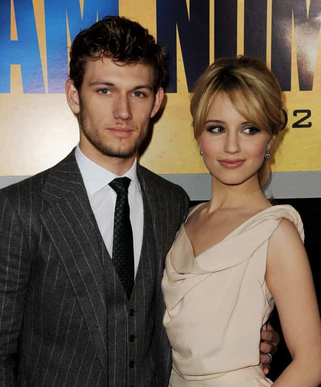 Dianna Agron is listed (or ranked) 4 on the list Alex Pettyfer Loves and Hookups