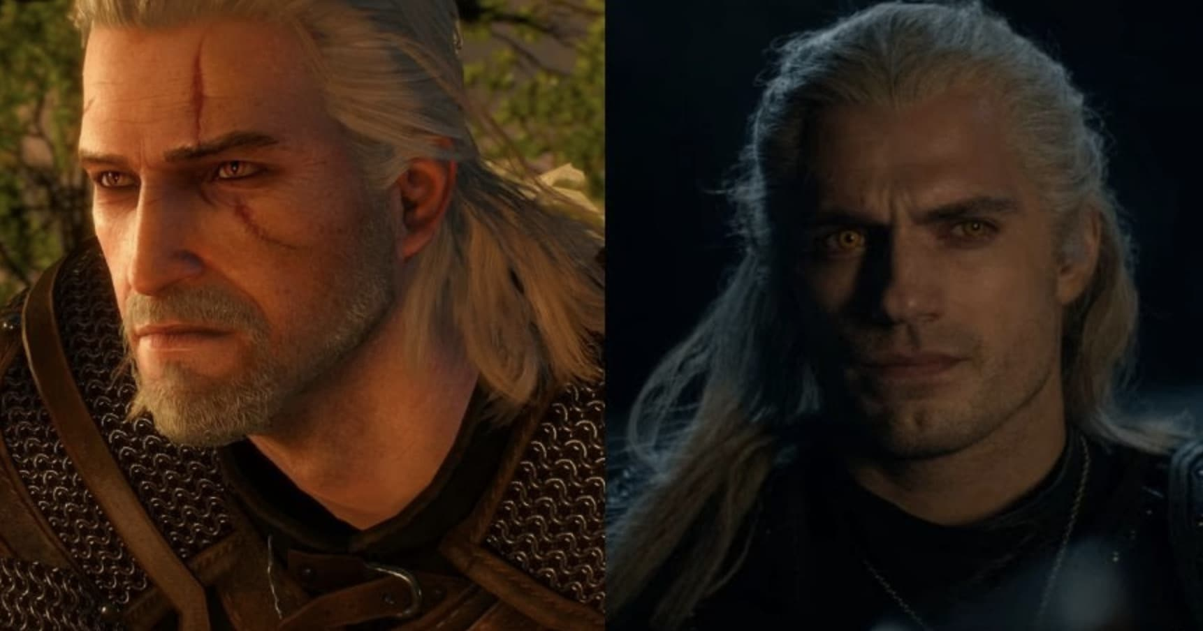 Image of Random 'The Witcher' Characters Compare With The Video Games