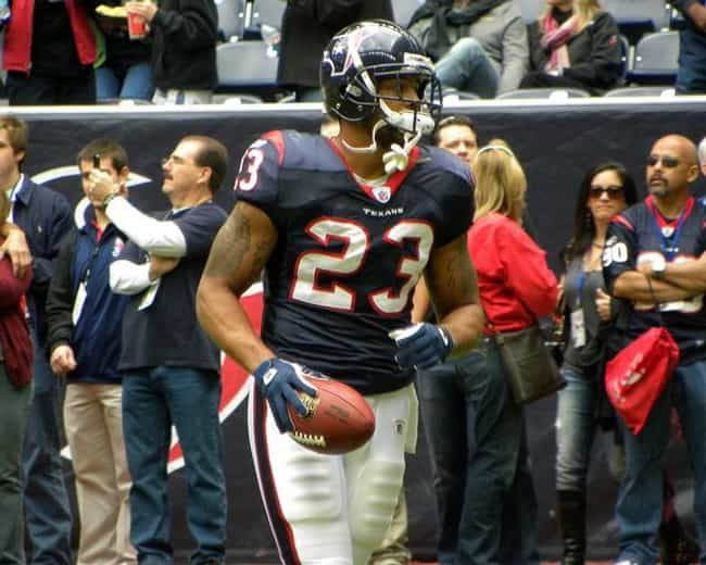 Arian Foster is listed (or ranked) 4 on the list Famous Mission Bay Senior High School Alumni