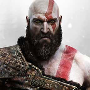 Kratos is listed (or ranked) 12 on the list Easy Costumes If You Already Have A Beard or Mustache