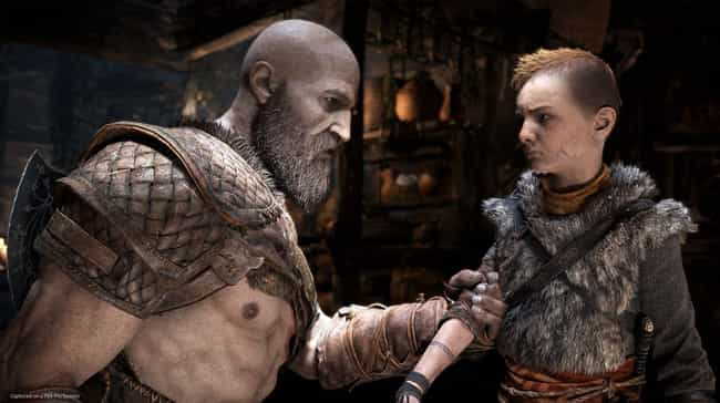 Kratos is listed (or ranked) 2 on the list The All-Time Best Dads In Video Games