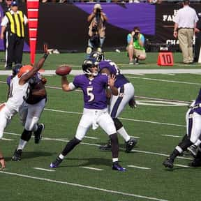 Joe Flacco is listed (or ranked) 13 on the list The Best NFL Players From New Jersey
