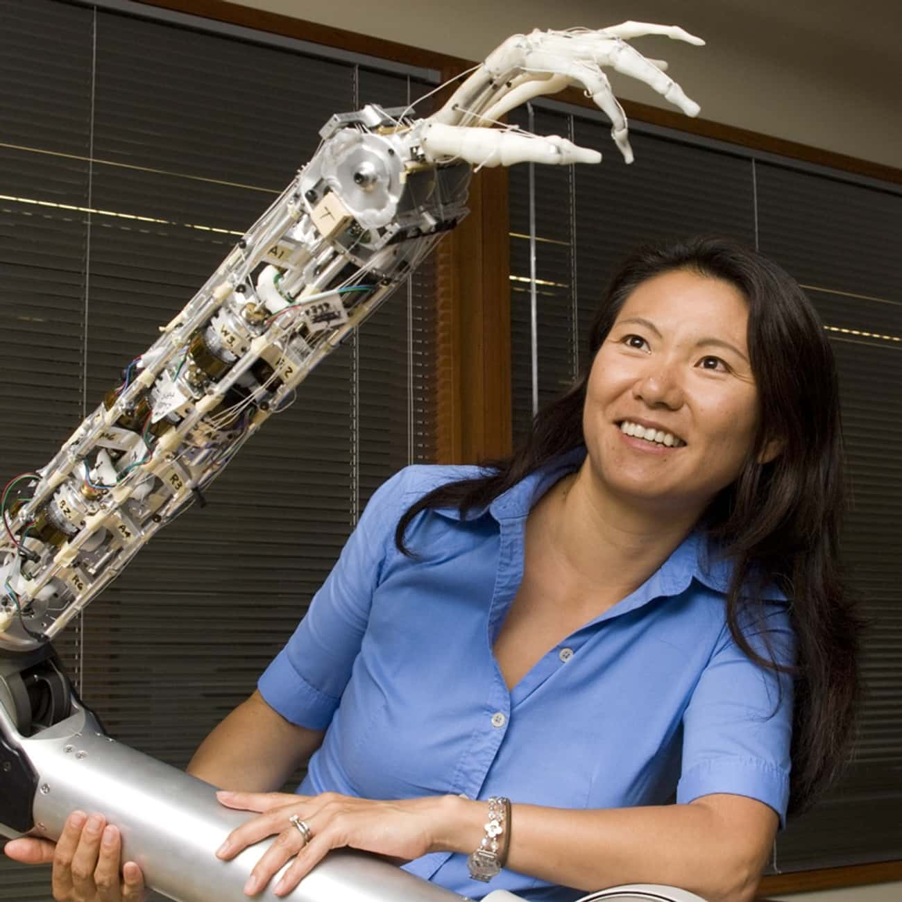 Yoky Matsuoka is listed (or ranked) 4 on the list Famous Female Electrical Engineers