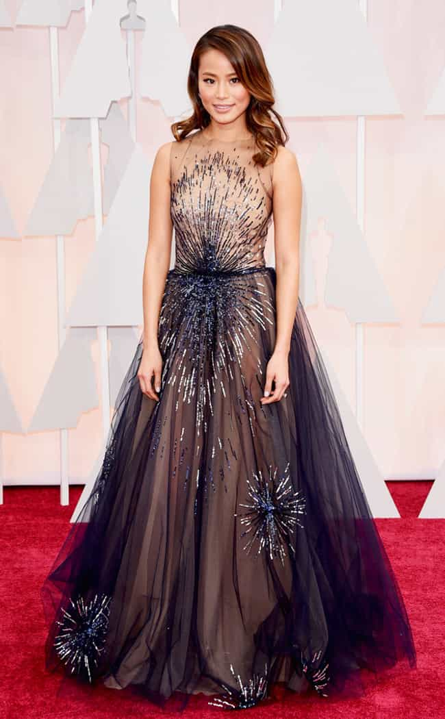 Jamie Chung is listed (or ranked) 4 on the list The Best Looks at the 2015 Academy Awards