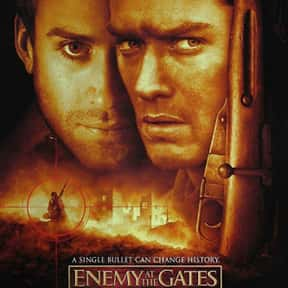 Enemy at the Gates is listed (or ranked) 9 on the list The Best Military Movies Ever Made