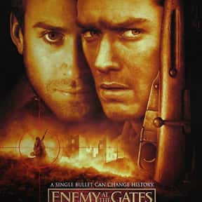 Enemy at the Gates is listed (or ranked) 22 on the list The Greatest World War II Movies of All Time