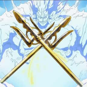 Eneru is listed (or ranked) 24 on the list The 30+ Most Badass Anime Characters Who Dual Wield Weapons