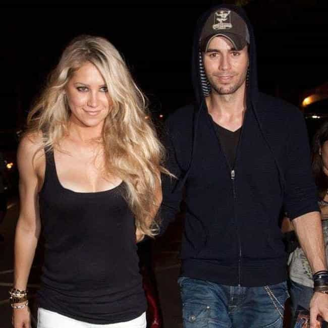 Enrique Iglesias is listed (or ranked) 1 on the list Anna Kournikova Loves and Hookups
