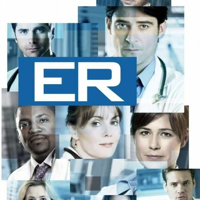 ER is listed (or ranked) 1 on the list The Best 1990s Medical TV Shows