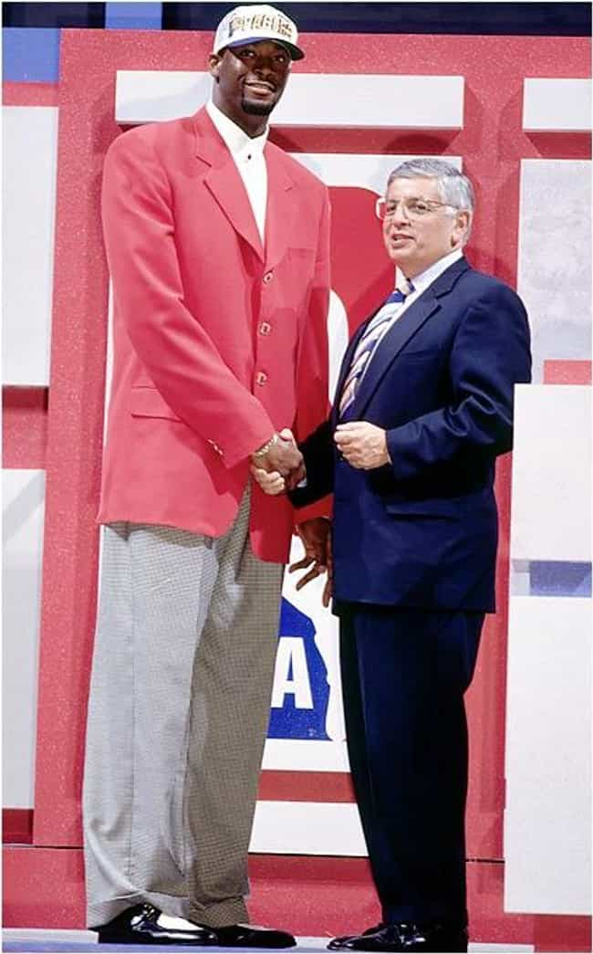 Erick Dampier is listed (or ranked) 3 on the list The All Time Loudest Suits Worn to the NBA Draft