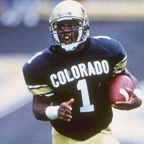 Eric Bieniemy is listed (or ranked) 2 on the list The Best Colorado Buffaloes Running Backs of All Time