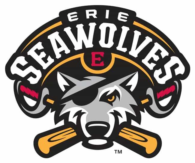 Erie SeaWolves is listed (or ranked) 4 on the list The Best Minor League Baseball Team Logos