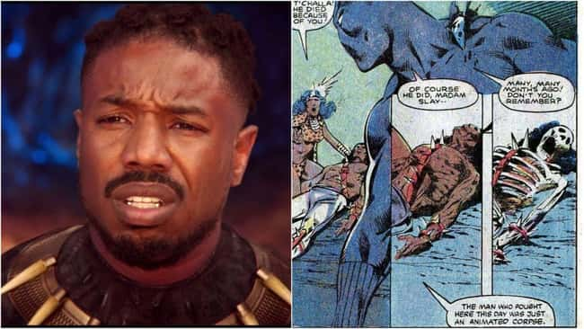 13. For years, Killmonger was absent from the board until the Mandarin reanimated his corpse with one of his Ten Rings. Fortunately, the Black Panther defeated this quasi-revived version of the Mandarin, and the Mandarin moved on to another scheme.