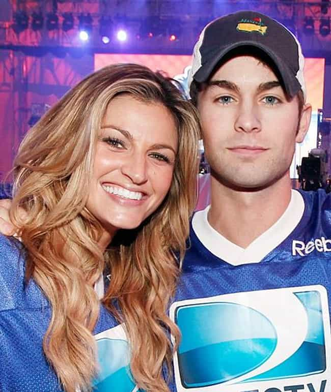 Erin Andrews is listed (or ranked) 4 on the list Chace Crawford's Loves & Hookups