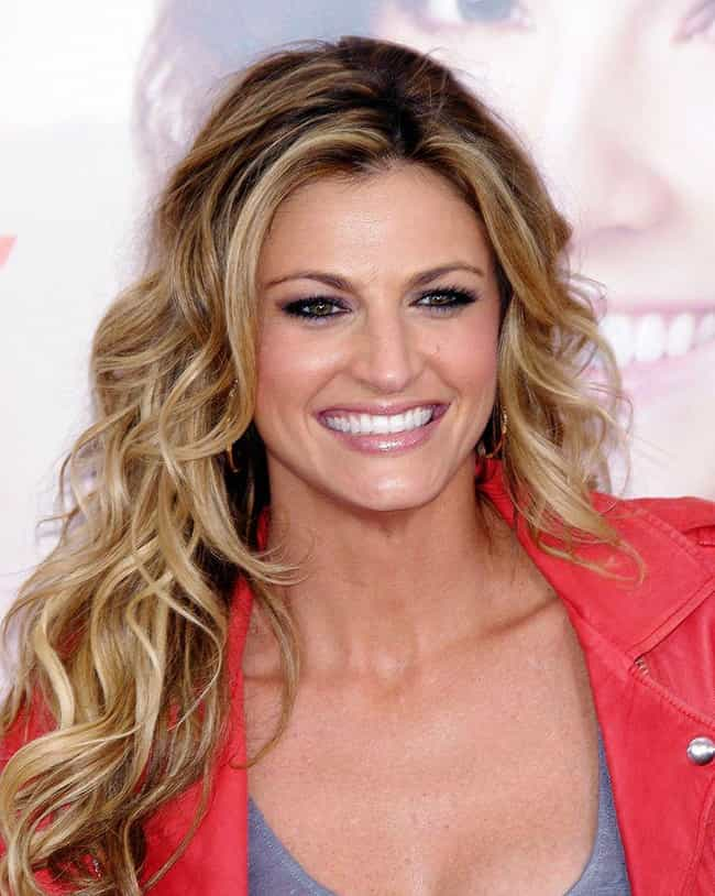 Erin Andrews is listed (or ranked) 2 on the list Famous Survivors of Cervical Cancer