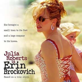 Erin Brockovich is listed (or ranked) 6 on the list The Best Courtroom Drama Movies