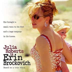 Erin Brockovich is listed (or ranked) 21 on the list The Best Inspirational Movies