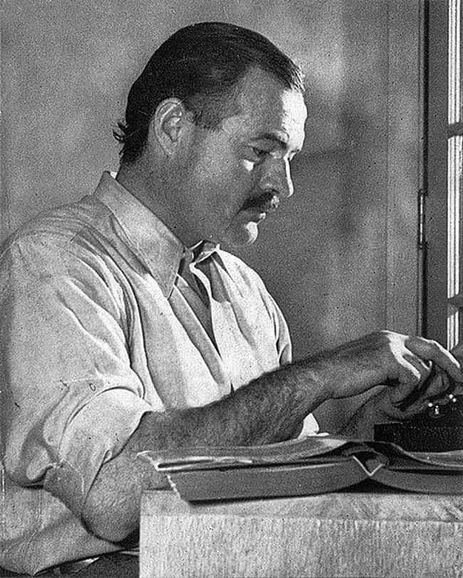Ernest Hemingway is listed (or ranked) 4 on the list Which Historical Figure Would Win In An All-Night Drinking Competition?