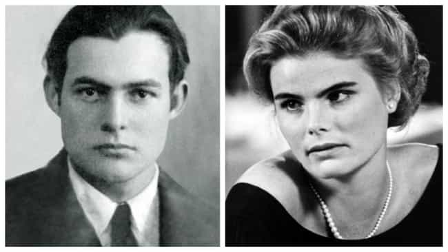 Ernest Hemingway is listed (or ranked) 3 on the list Famous Grandparents And Their Grandkids At The Same Age