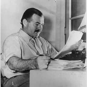 Ernest Hemingway is listed (or ranked) 1 on the list The Greatest American Writers of All Time