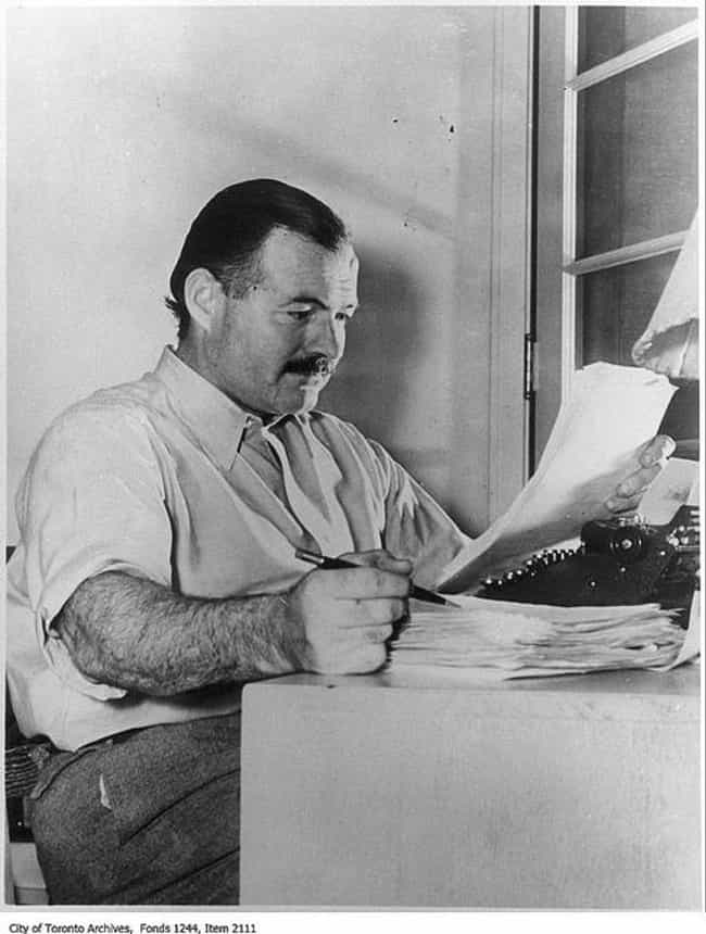 Ernest Hemingway is listed (or ranked) 2 on the list 12 Famous People Who Made History While Being Totally Hammered