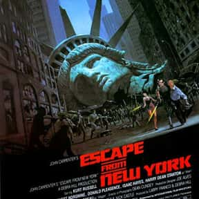 Escape from New York is listed (or ranked) 6 on the list The Best B Movies of All Time