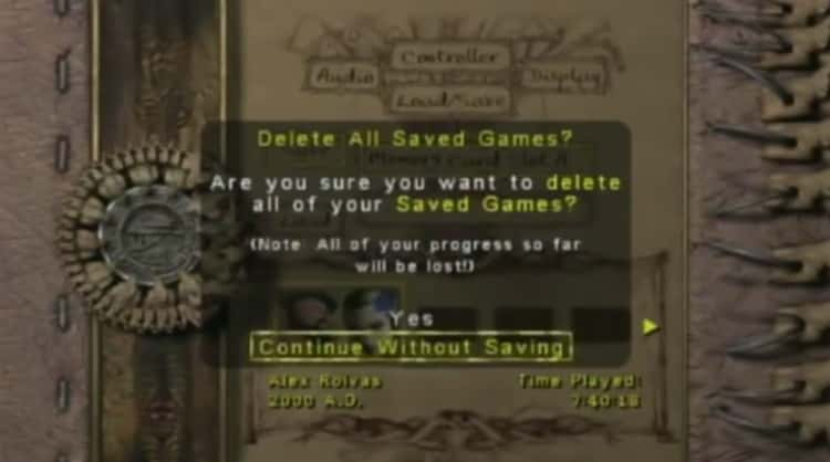 Eternal Darkness Tricks You Into Thinking Your TV Is Broken